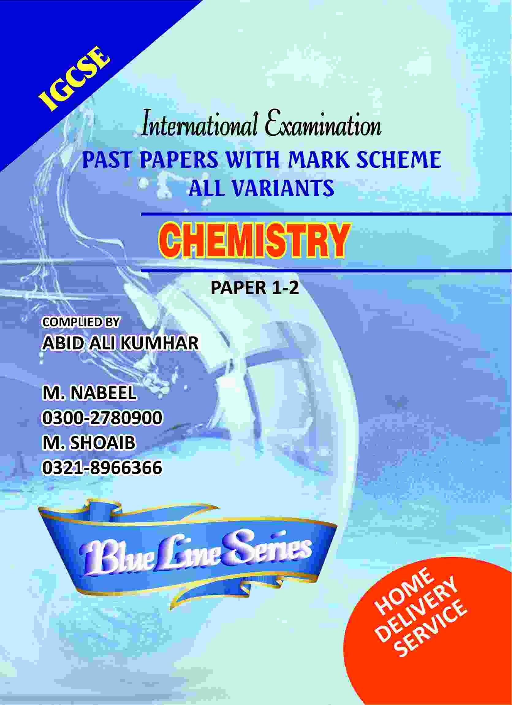 Igcse chemistry paper1-2