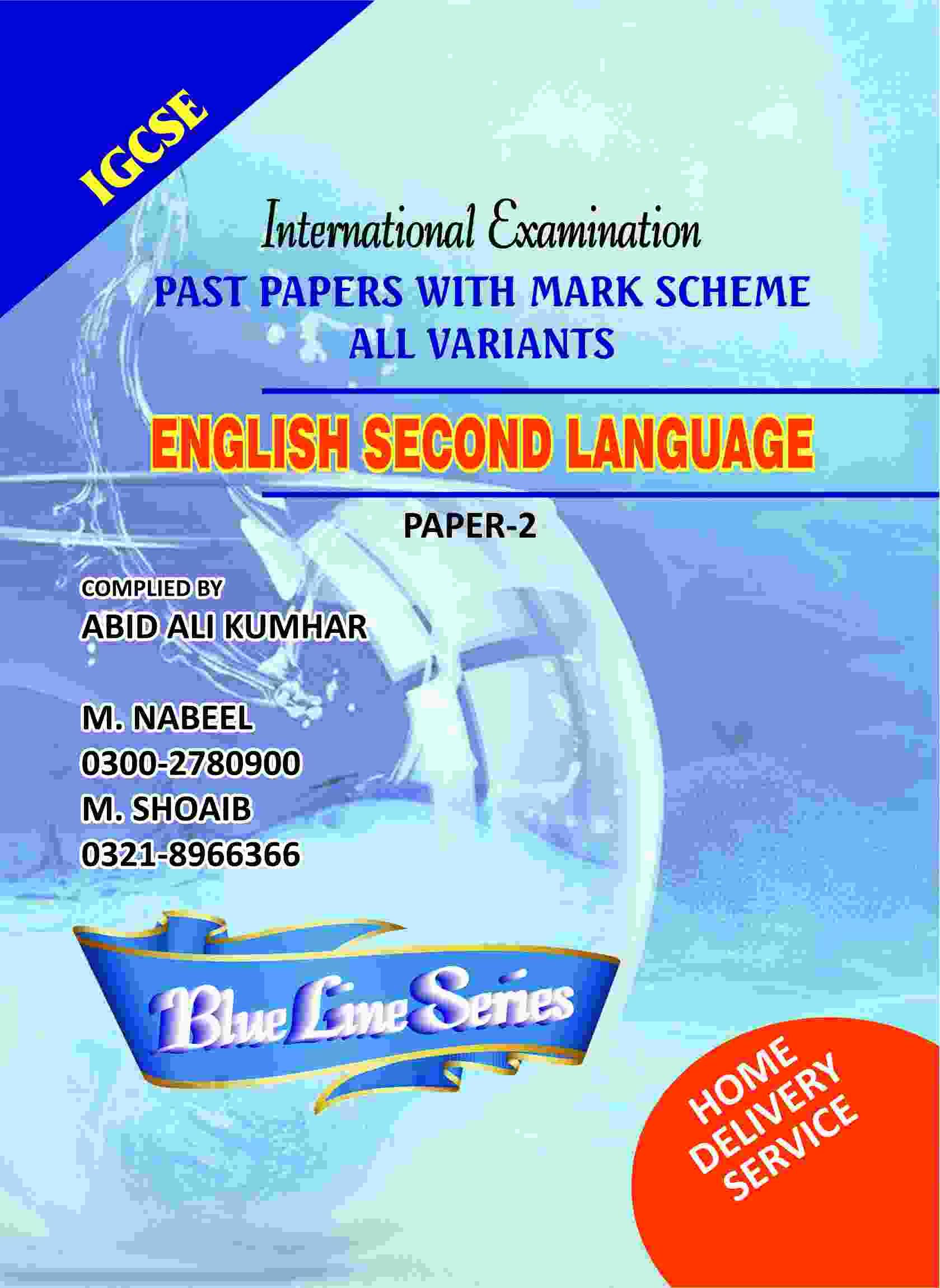Igcse english second language paper 2