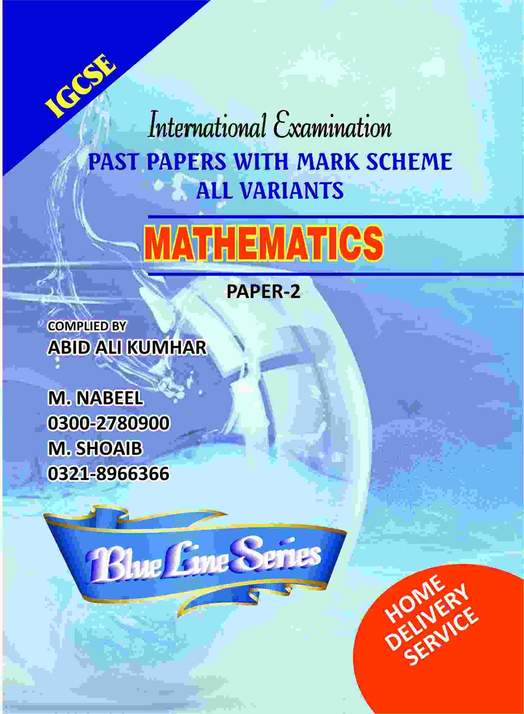 Igcse mathematics paper 2